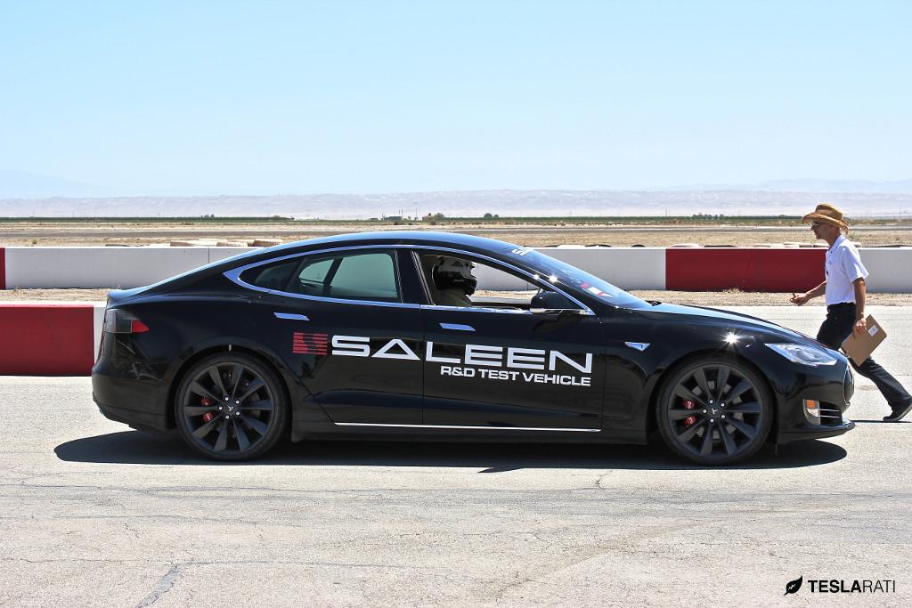 Saleen Tesla Model S - Steve Saleen Track Test