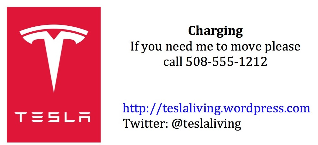 Charging Sign