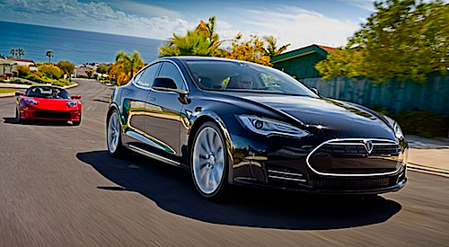 Tesla Roadster Model S