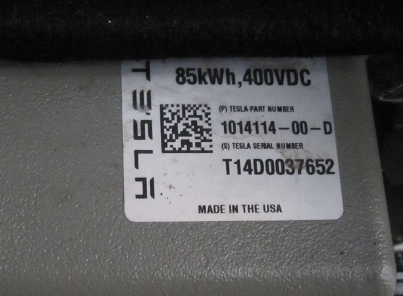 Decoding Your Tesla Battery Pack Version