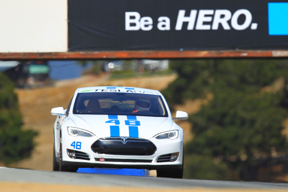 Teslarati 48 places 1st in Model S class at REFUEL Laguna Seca Racewa