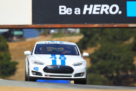 Teslarati 48 places 1st in Model S class at REFUEL Laguna Seca Racewa