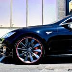 MGP Tesla Model S Red Brake Caliper Covers (Front)