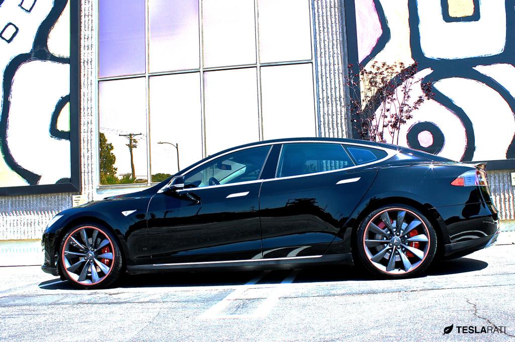 MGP Tesla Model S Red Brake Caliper Covers