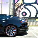 MGP Tesla Model S Red Brake Caliper Covers (Rear)