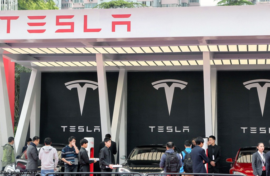 Tesla sued in China