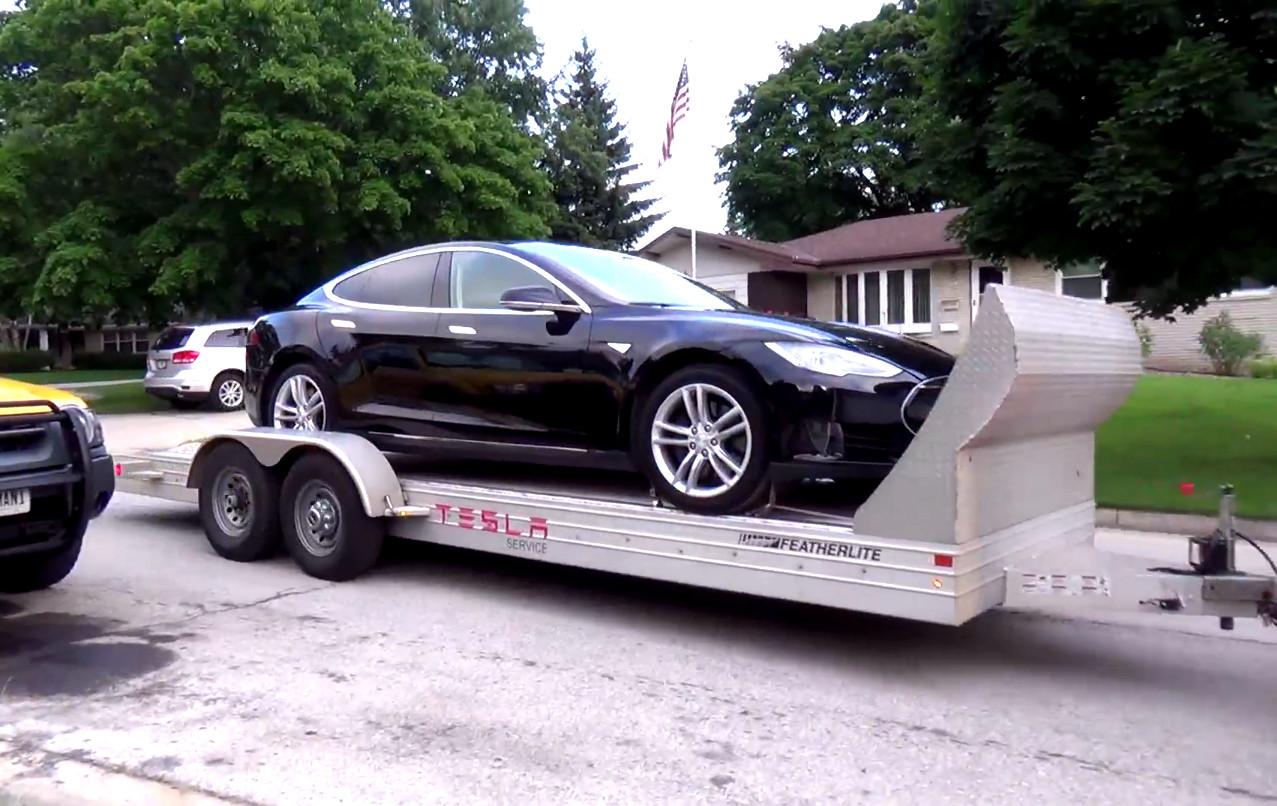 Tesla battery failure