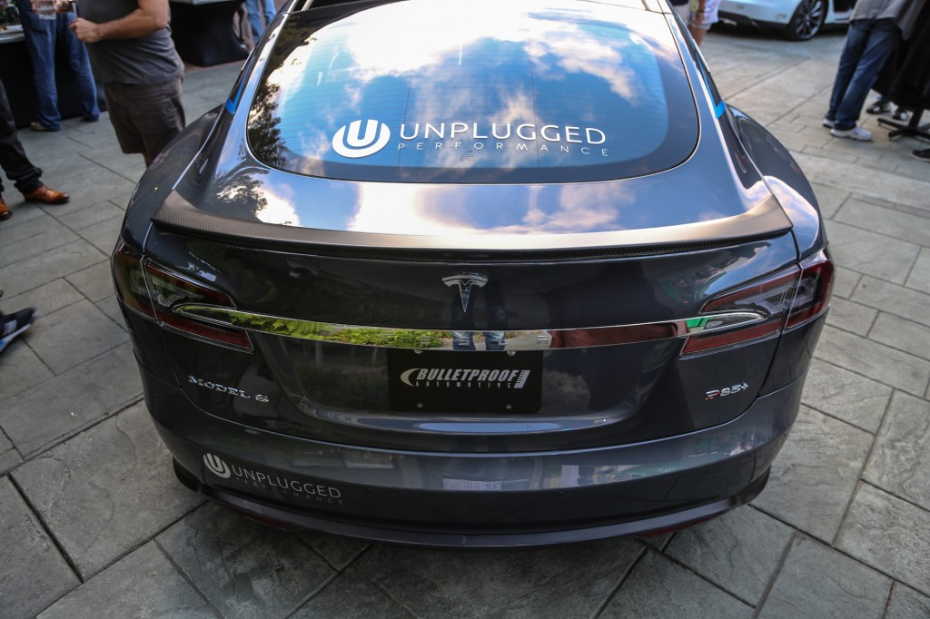 Unplugged Performance Tesla Model S Rear Carbon Fiber