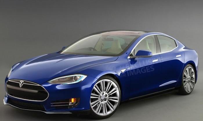 Tesla Model III Front