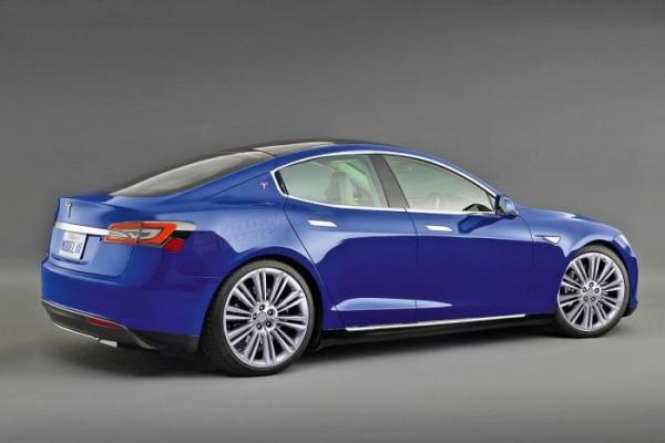 Tesla Model 3 Rendition