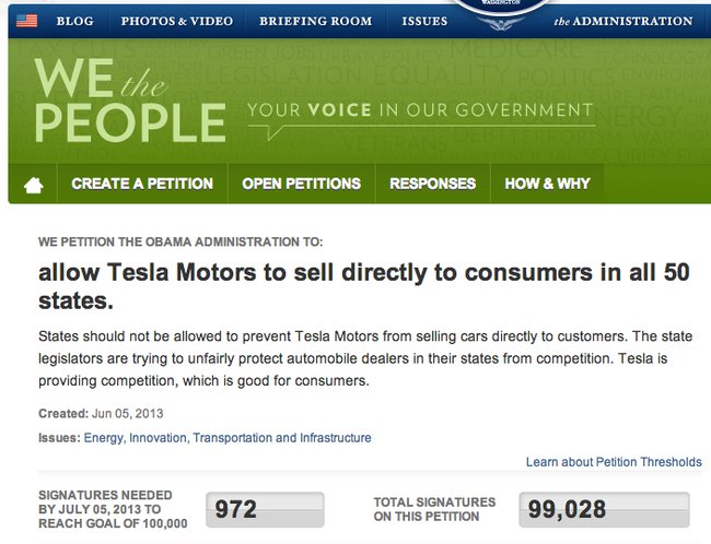 tesla-white-house-petition