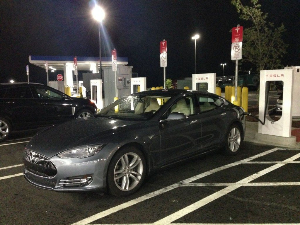 Tesla road trip - Darien South SC