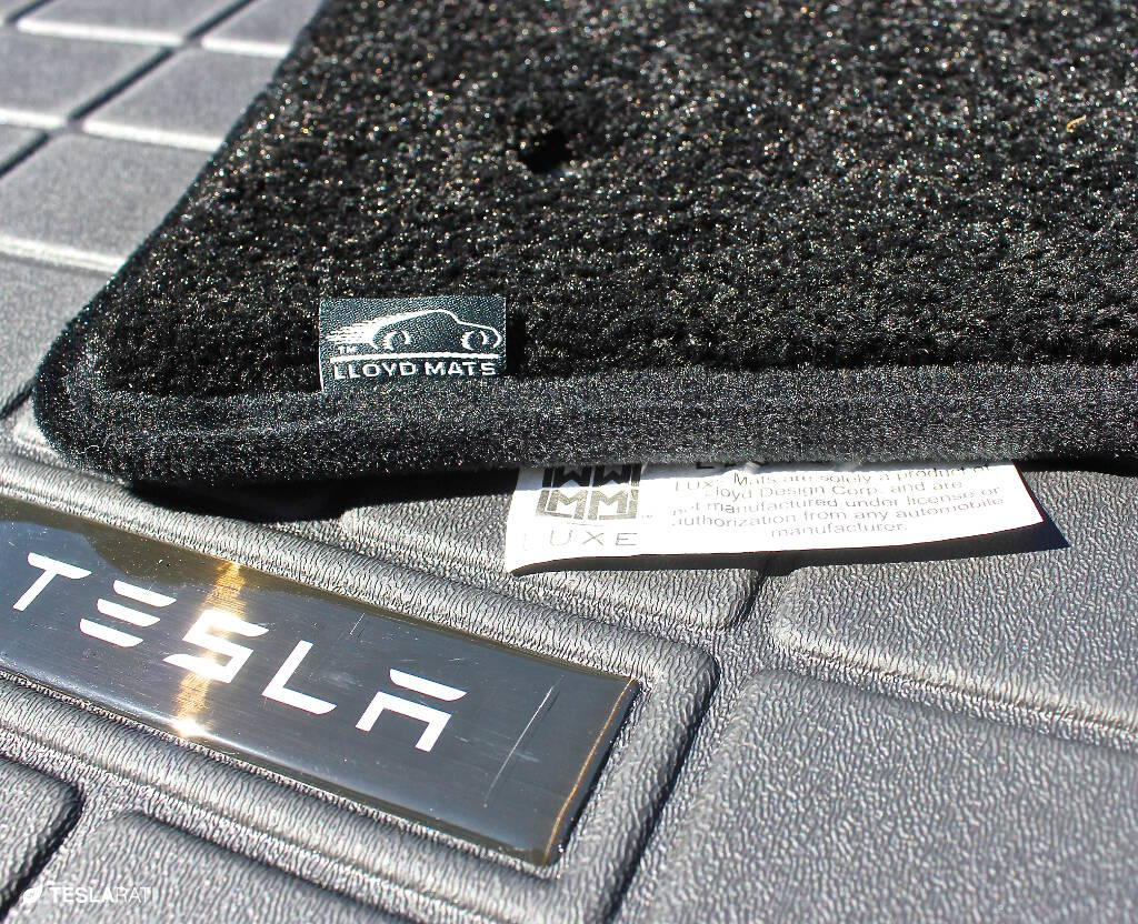 tesla floor mats by lloyd review. Black Bedroom Furniture Sets. Home Design Ideas