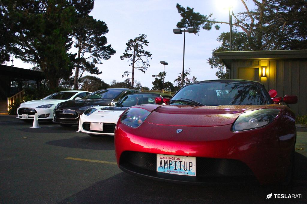 "Tesla Vanity Plate ""AMP IT UP"""