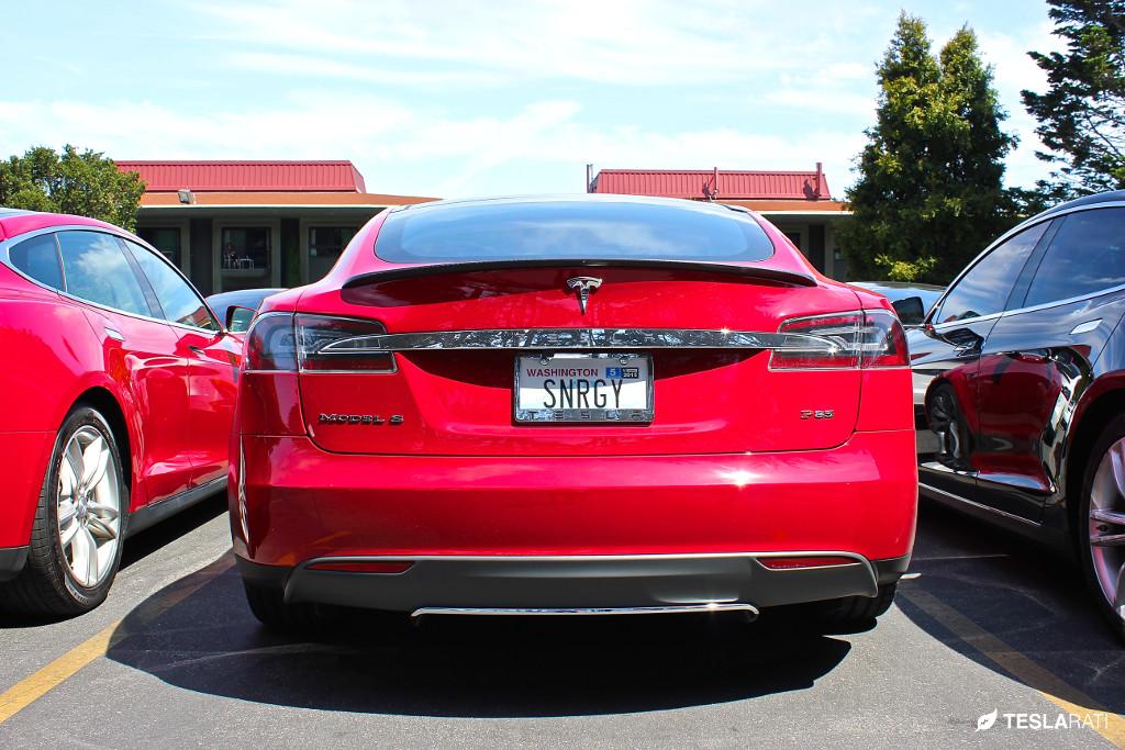 """Tesla Vanity Plate """"SNRG"""""""