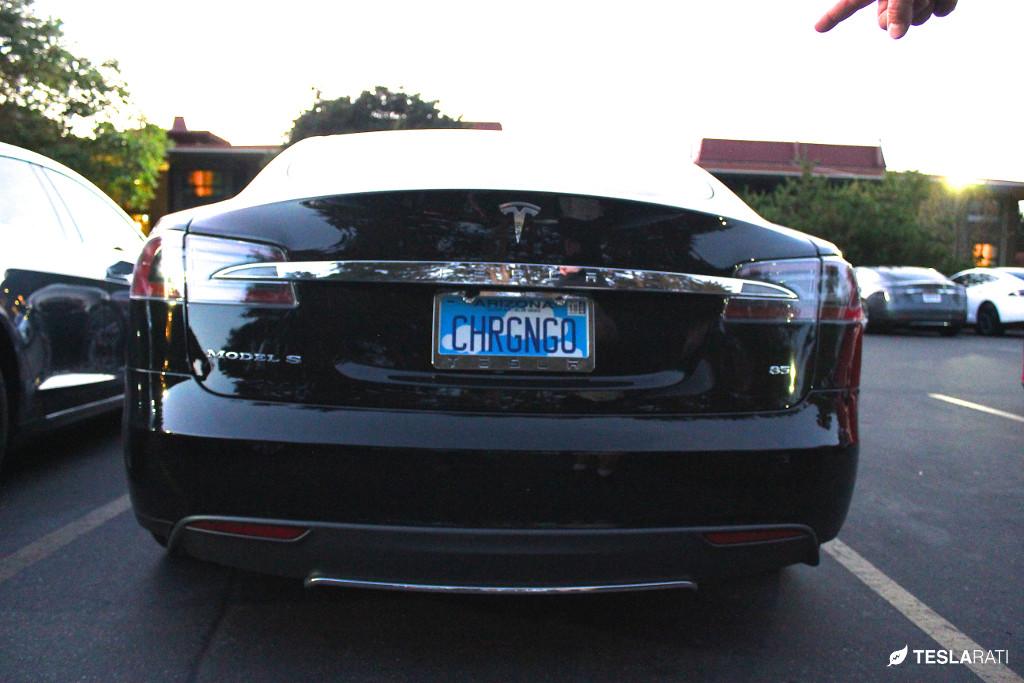 """Tesla Vanity Plate """"CHRGNGP"""""""