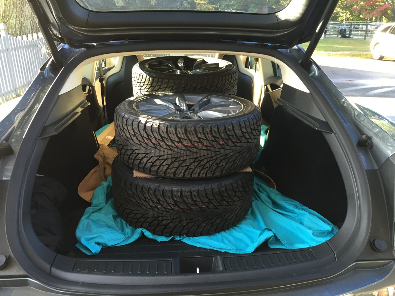 Loaded Tires