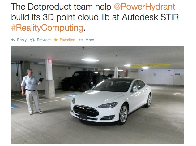PowerHydrant-3D-Scan-Tesla-Model-S-Point-Cloud