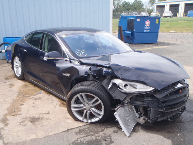 Salvaged Tesla Model S