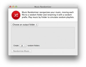 Music Randomizer Start