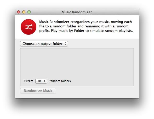 Music Randomizer Start