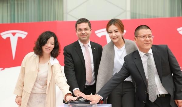 Tesla Supercharger China celebration in Chengdu