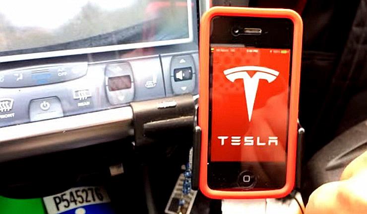 Tesla-Firmware-App-Keyless