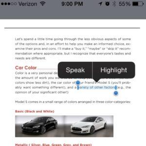 """No """"Copy"""" in this e-book"""