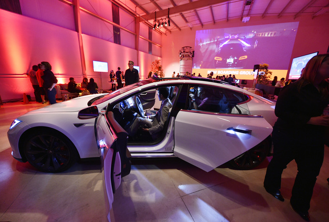Telsa CEO Elon Musk Unveils New Tesla D Options
