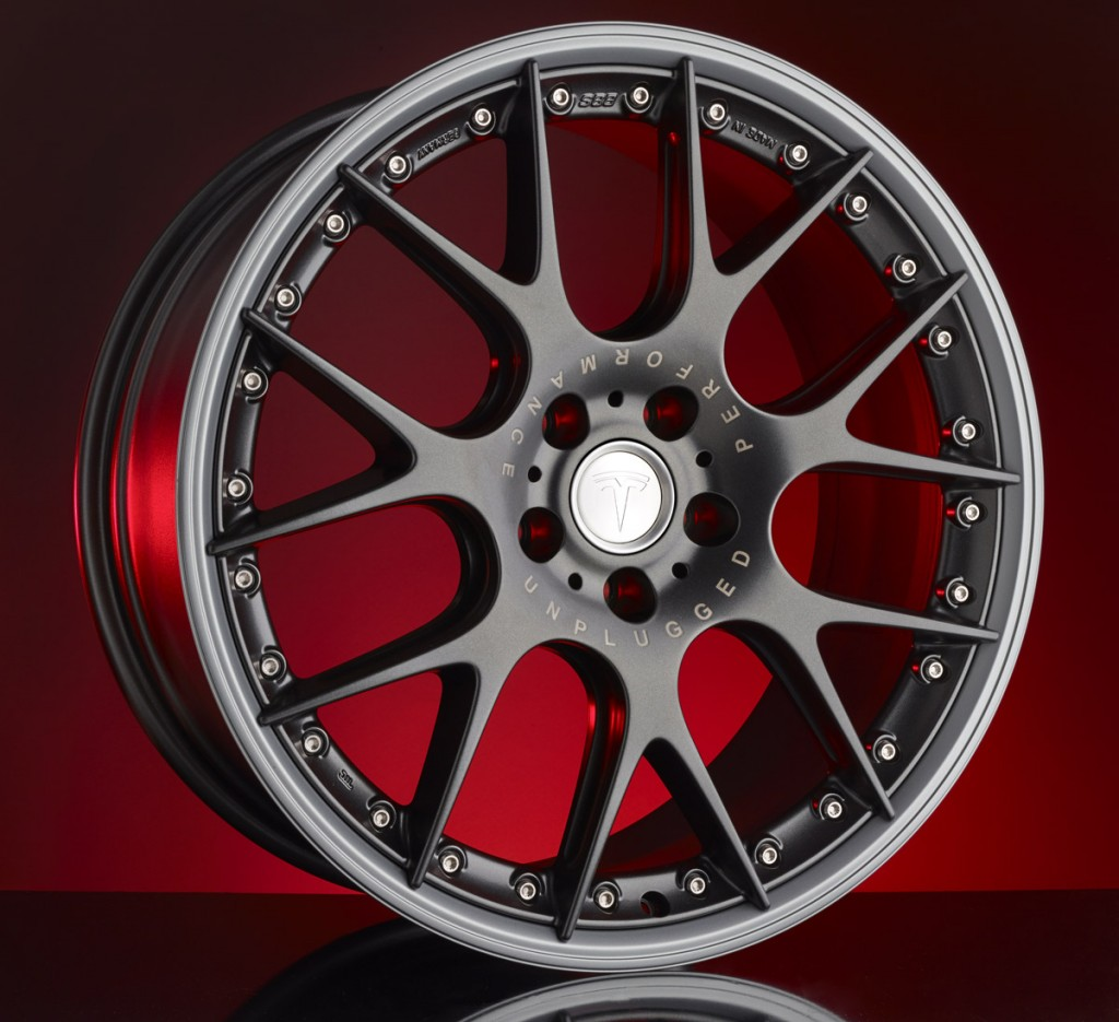 Tesla Model S BBS Wheels (Unplugged Performance UP-01)