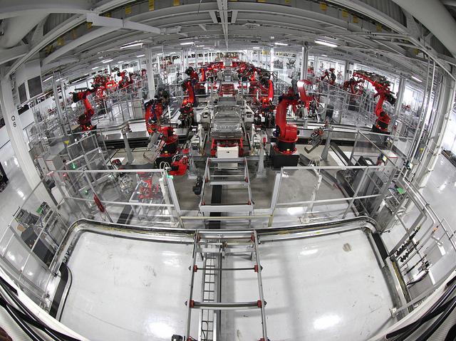 Tesla Motors Manufacturing Plant