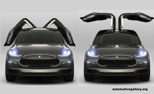 Tesla Model X S Gull Wing Doors Culprit
