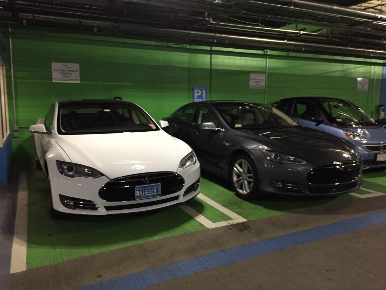 Seaport parking