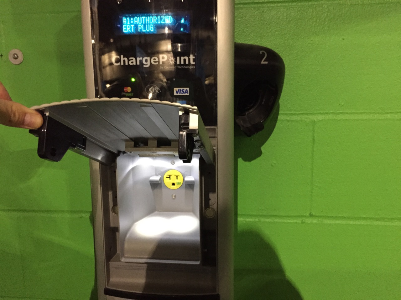 NEMA 5-15 Chargepoint
