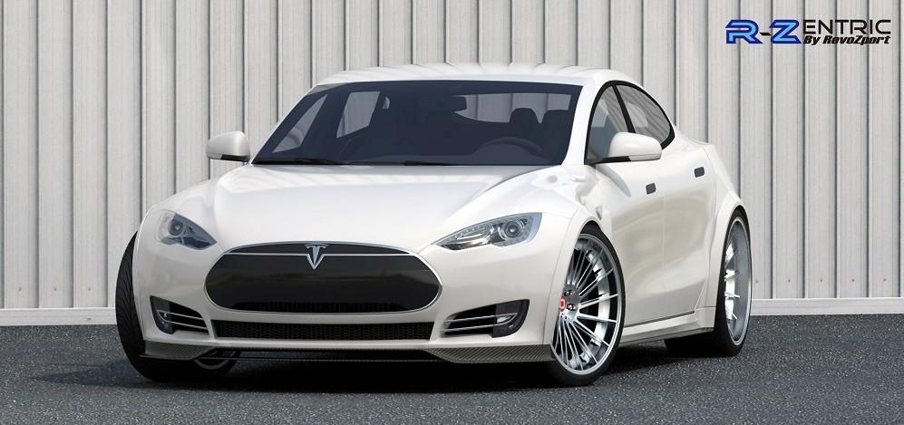 RevoZport-Tesla-Carbon-Fiber-Body-Kit-Front-2