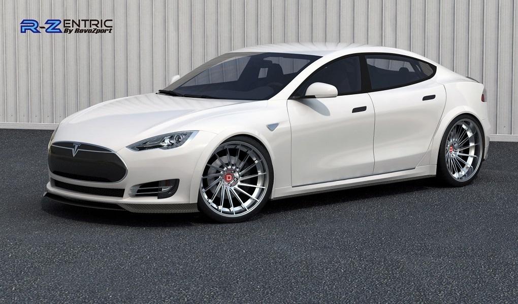 691hp Revozport Carbon Fiber Widebody Tesla Aerokit