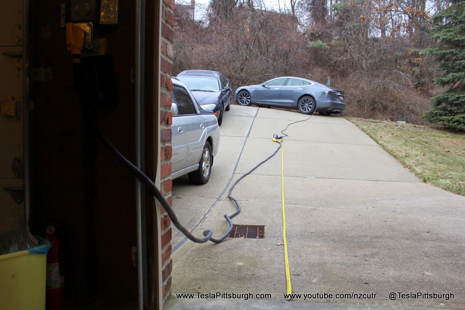 Tesla Umc Extension Cord Via Camco 50 Amp 30 Powergrip