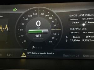 12V Battery needs Service