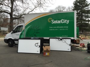 SolarCity Panel Staging