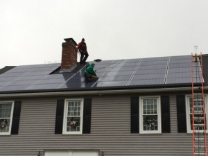 Installing Solar Panels through SolarCity
