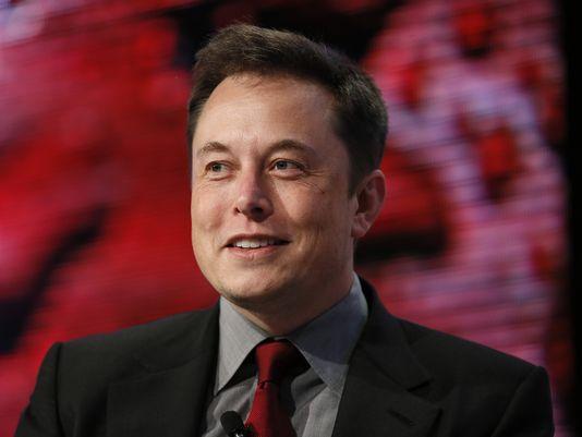 Musk Detroit Auto Show