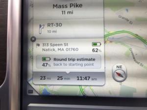 Navigation Energy Usage