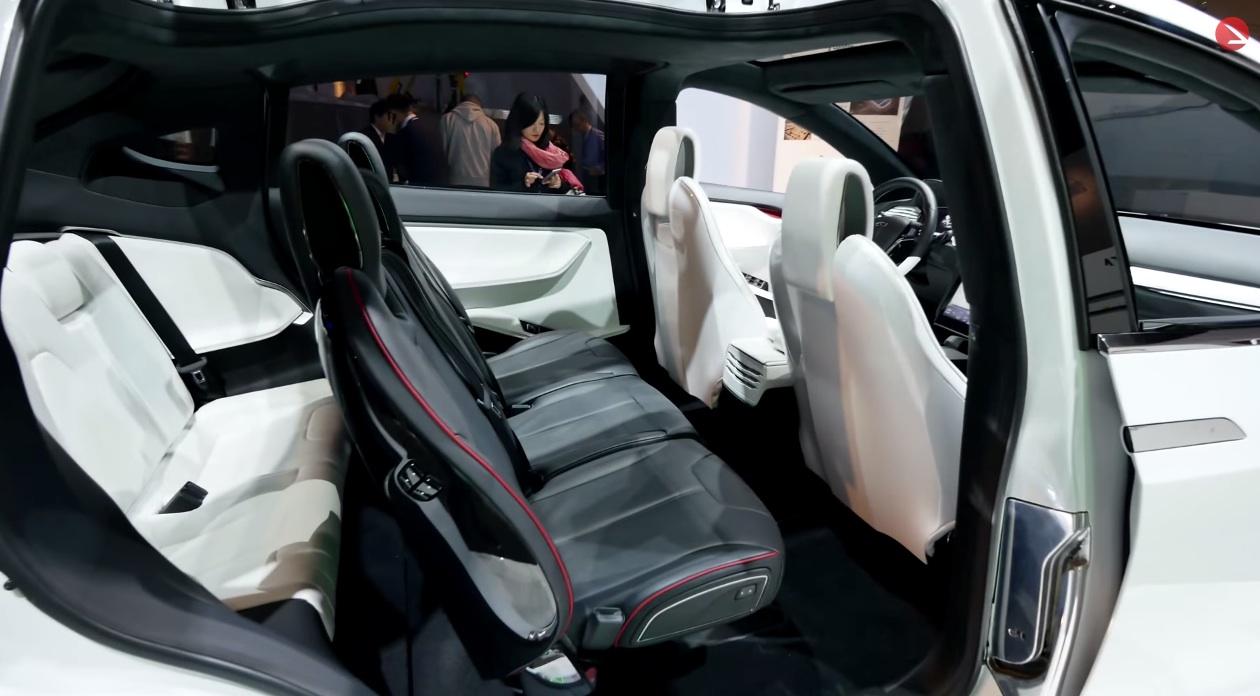 Tesla Model X Review At Ces 2015