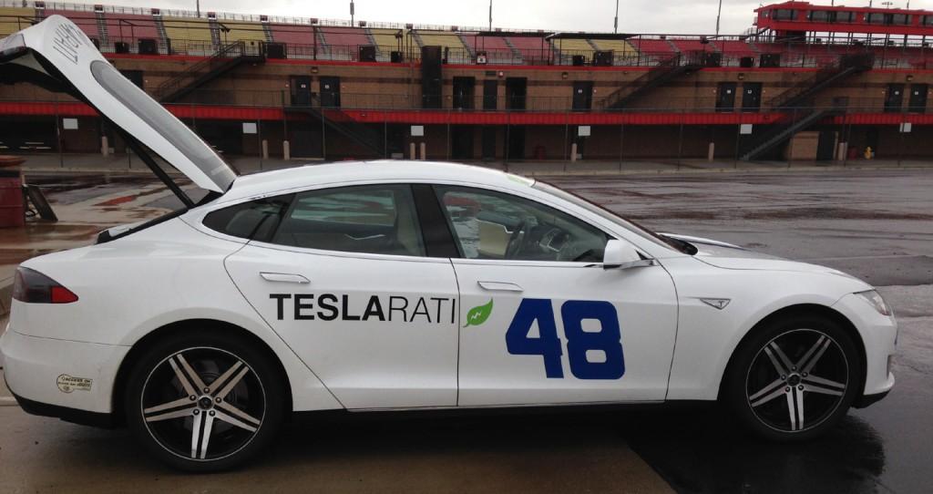 Tesla 48 on Toyo R888s