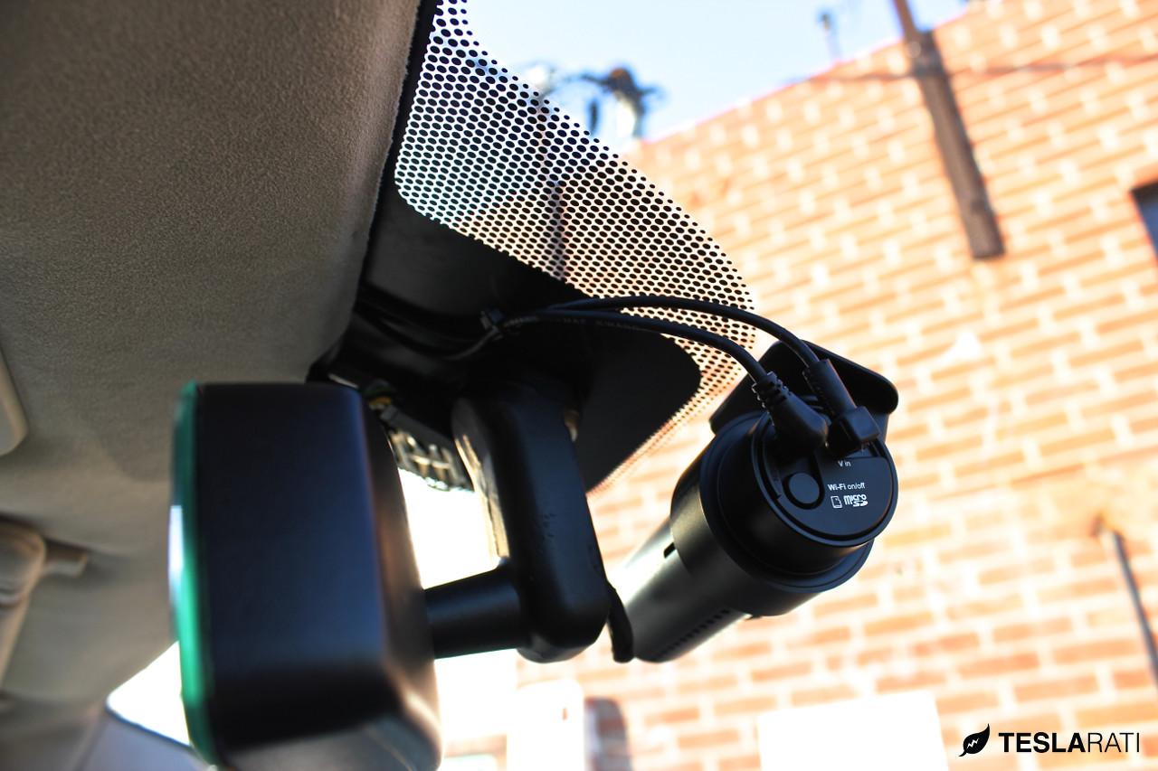 Tesla Model S BlackVue HD Dashcam Installation Guide