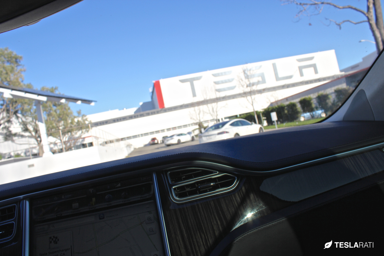 Tesla-Fremont-Factory-Dash