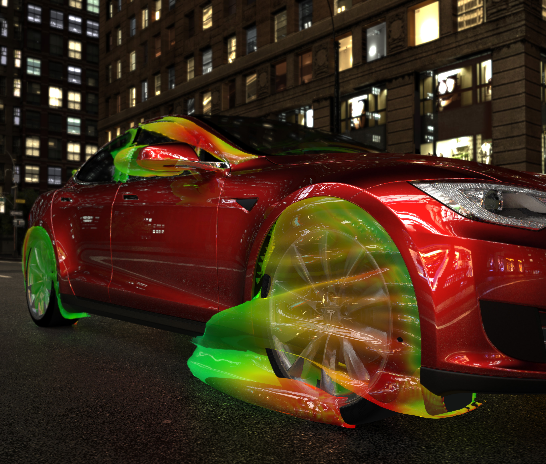 digital wind tunnel tech behind tesla model s aerodynamics