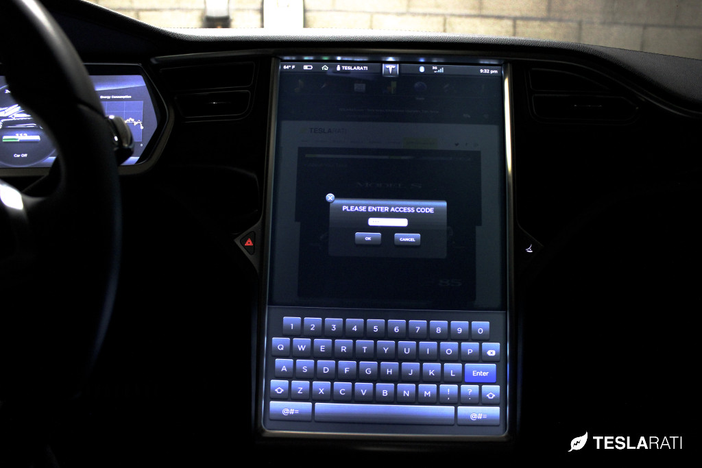 Tesla Model S Easter Egg James Bond 1