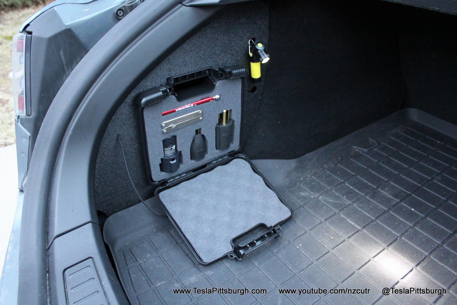 Tesla charging accessories
