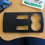 Tesla Model S Carbon Fiber Interior Trim Arm Rest